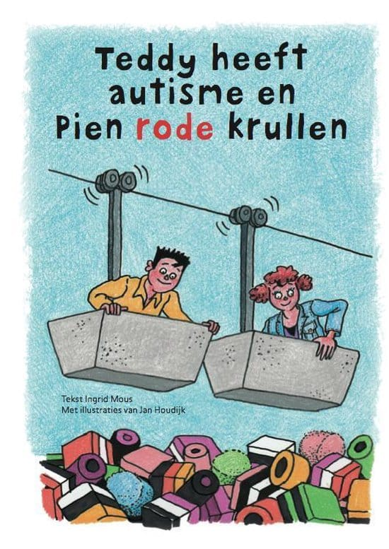 boek teddy heeft autisme | Purechild | Boeken voor kinderen